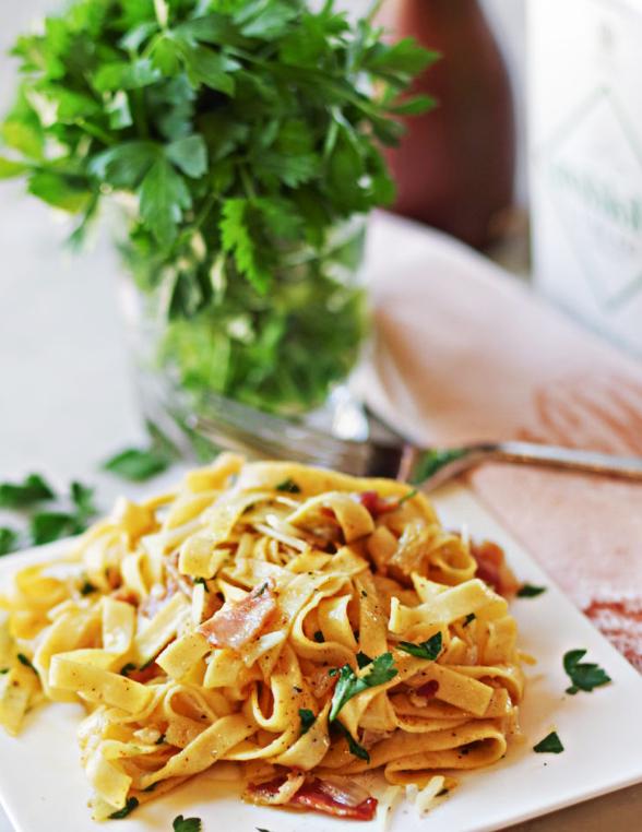 Fettuccini carbonara - jak na ně